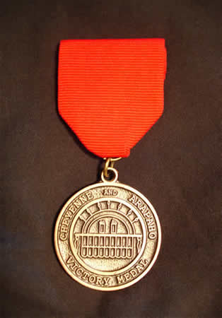 Cheyenne & Arapaho Victory Medal