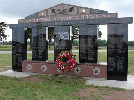 The Cheyenne & Arapaho Veteran's Memorial