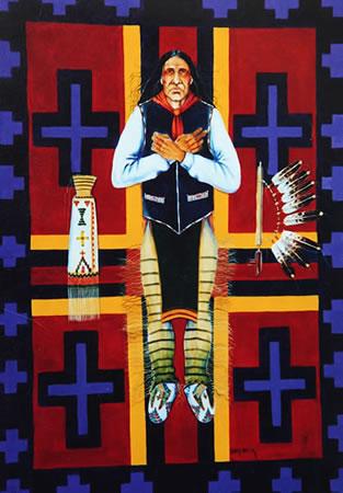 Cheyenne Burial