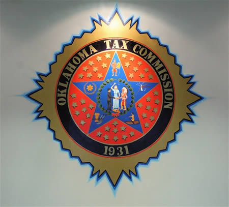 Oklahoma Tax Commission Seal