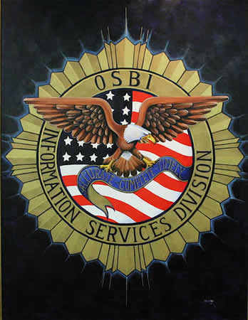 OSBI Information Services Division Seal