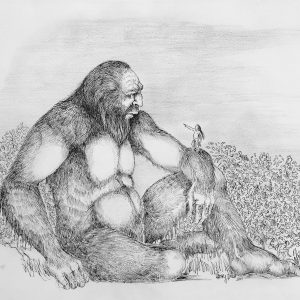 Bigfoot Art