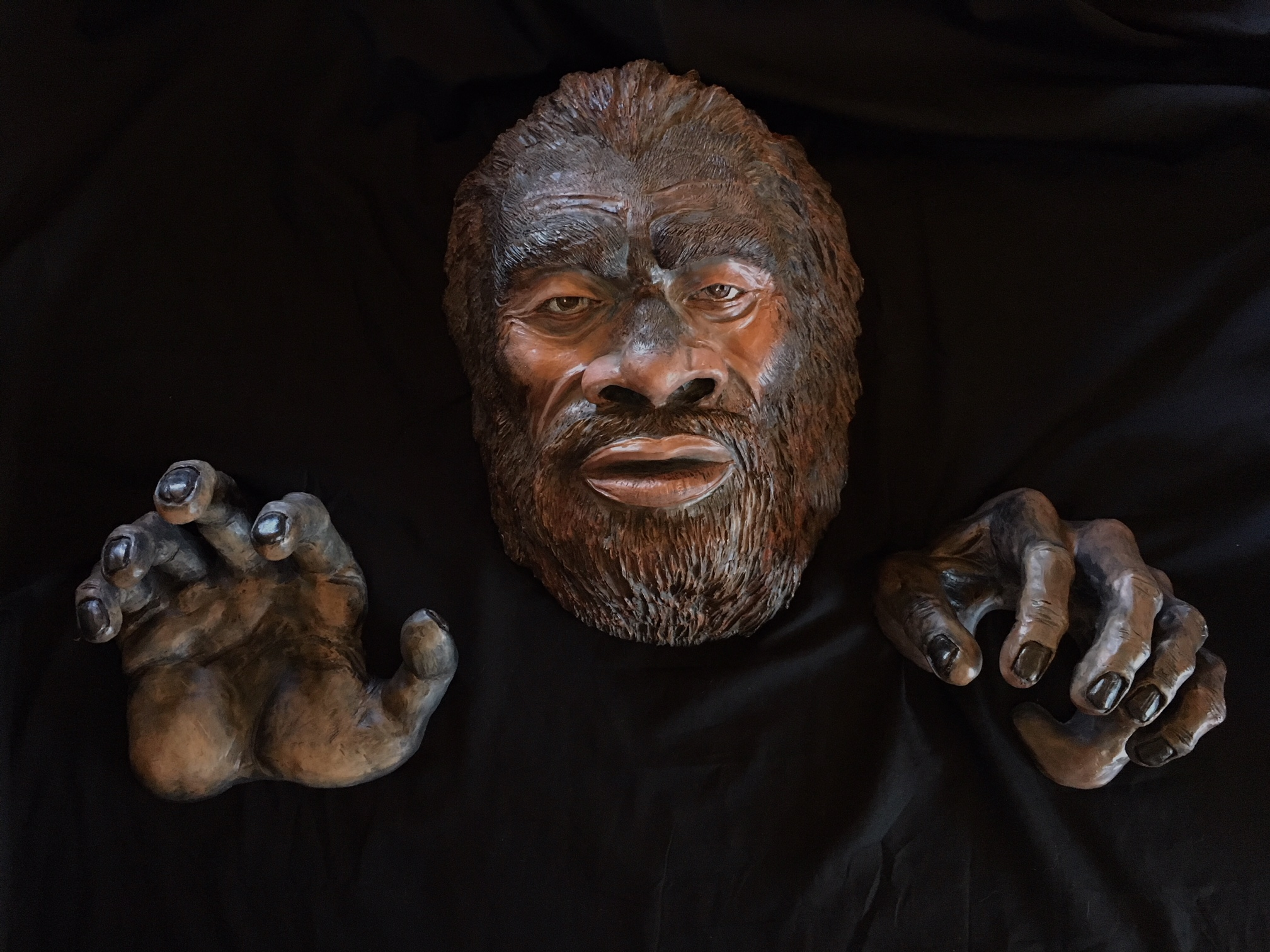 My Dark Passenger Bigfoot Sculpture